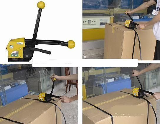 FreeDHL1PC Manual handy strapping tool,plastic handle,electrical PP packing equipment,A333 Packing straps,carton banding machine(China (Mainland))