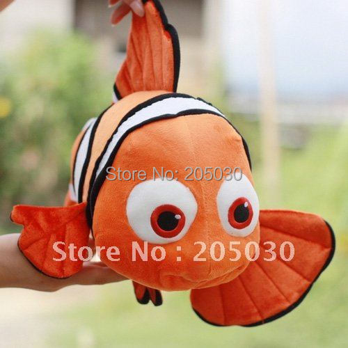 new arrival animal toys fish toy FINDING NEMO 40cm plush toy original toys a565(China (Mainland))