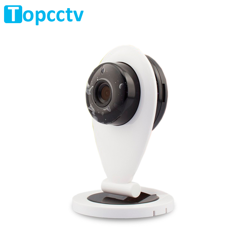 Wholesale!! 720P WiFi Camera IP 1.0MP P2P Home Security System Two Way Audio Baby Monitors Wireless IP cam(China (Mainland))
