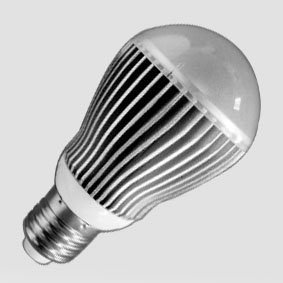 dimmable high power led bulb,5*1W,AC100-120V/220-240V input;DIA60*108mm;300-400lm;warm white