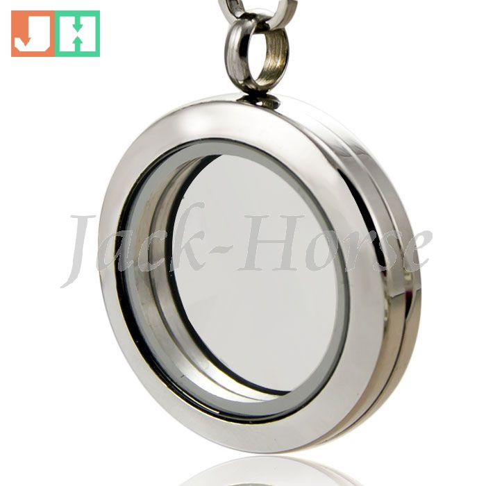 Free shipping high quality  25mm 316L Stainless Steel Floating Locket  Charm pendant with Swarovski Crystals wholesal<br><br>Aliexpress