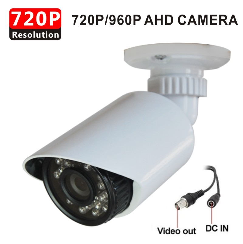 HD Analog AHD 1.0MP 1.3MP 720P 960p CCTV Camera Securiy Waterproof outdoor CCTV Camera with 3 Axis bracket+free shipping(China (Mainland))