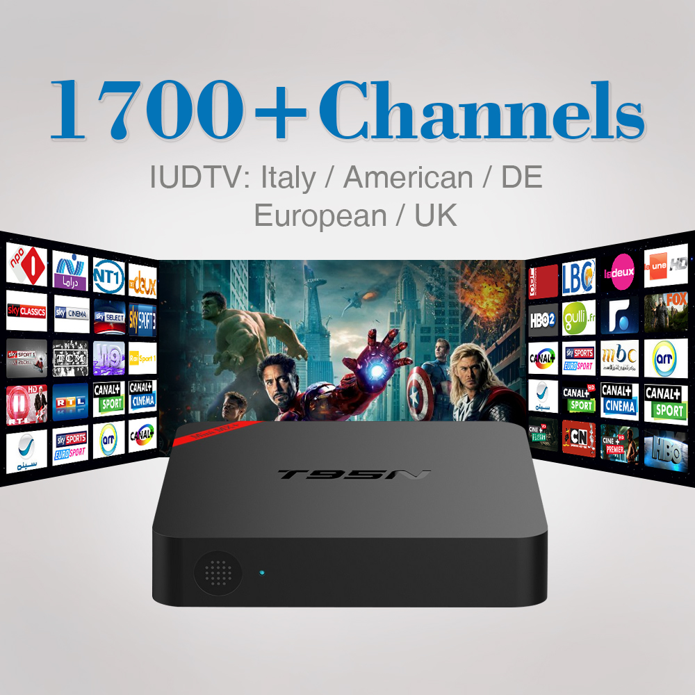 European IPTV Box Android TV Box IPTV Receiver 1700+French Turkish Italy Russia Channels Better MXV Android TV Box