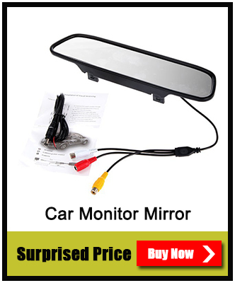 4.3 Car TFT LCD Monitor Mirror + Wireless Reverse Car Rear View Backup Camera Kit<br><br>Aliexpress