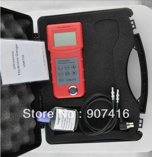 UM6700 Ultrasonic Thickness Meter Fast shipping of DHL Fedex EMS<br><br>Aliexpress