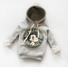 Free Shipping 2016 casual boys girls sport hoodies cartoon sweatshirt children clothes baby kids coat jacket clothing(China (Mainland))
