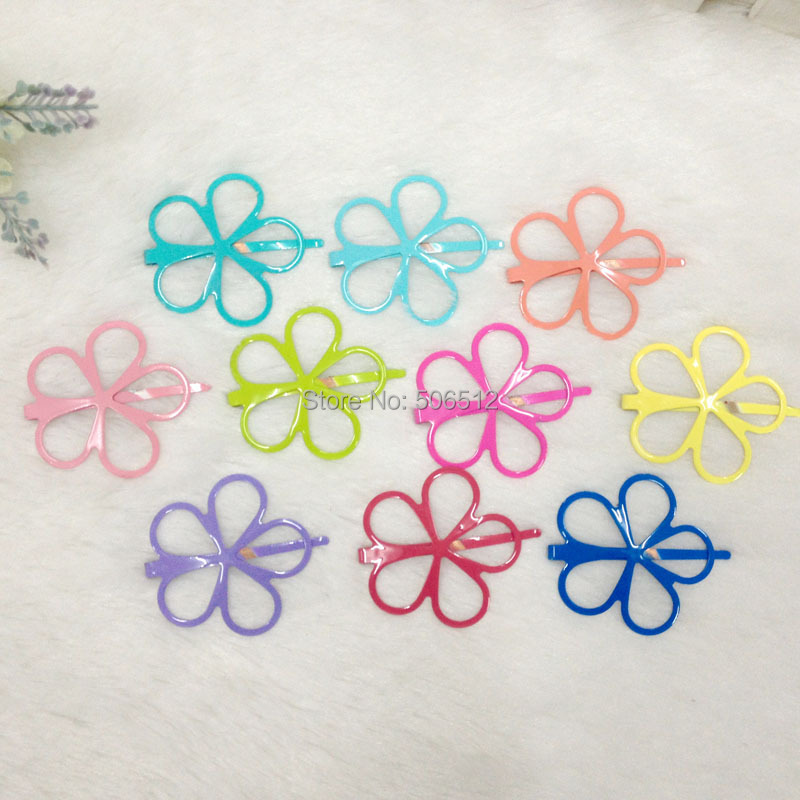 Free shipping 2pcs/lot Cute flower little girls hair accessories Nice hair clips for baby Lovely small Hairgrips Kids hair wear(China (Mainland))