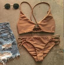 Hot Swimwear Bandage Bikini 2016 Sexy Beach Swimwear Women Swimsuit Bathing Suit Brazilian Bikini Set Biquini maillot de bain