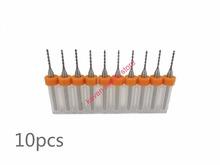 Freeshipping 10pcs/Set  0.4mm High Quality Hard Alloy PCB Print Circuit Board Carbide Micro Drill Bits Tool 0.4mm  for SMT CNC