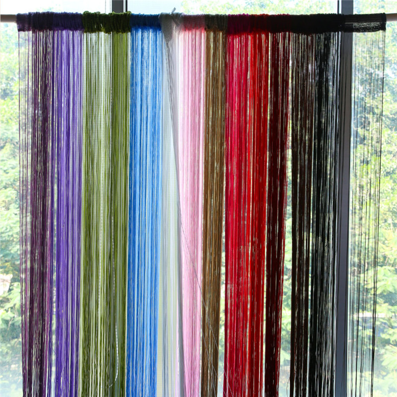 New Home Window Curtain String Curtains Patio Net Fringe For Door Fly . ...