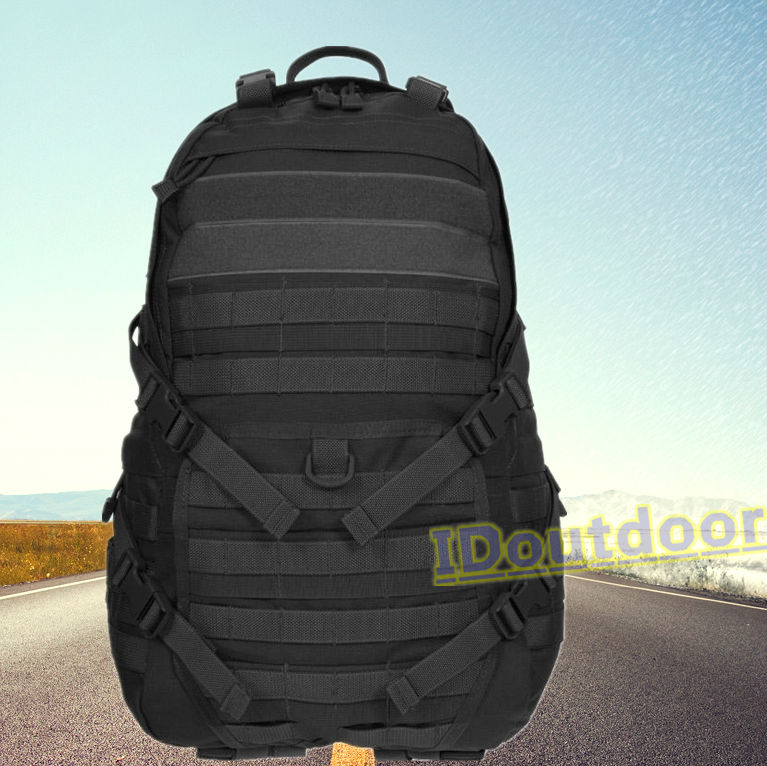TAD FAST PACK Military backpack, MOLLE tatical backpack black nylon 600D
