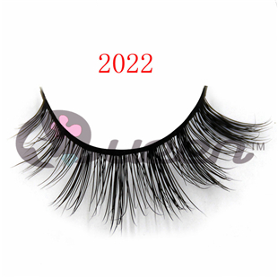 2022 style false eyelashes for sale, 100% mink hair with handmade, natural black color, cosmetics and makeup eyelashes(China (Mainland))