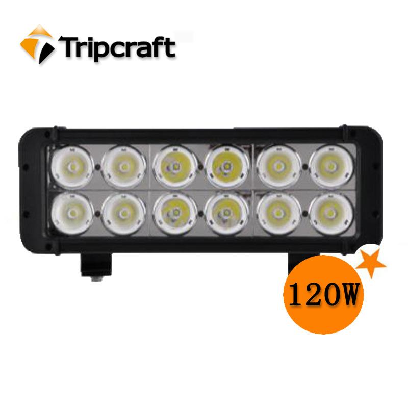 50%DISCOUNT!High Lumen 120W 10200Lumen LED OFF ROAD LED LIGHT BAR 10w*12 Cree offroad led light bar led Flexible work lamp(China (Mainland))
