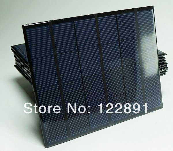 Wholesale 3.5W 6V Min Solar Cell Solar Panel Solar Module Diy Solar Charger System165*135*3MM 100pcs/lot DHL Free Shipping(China (Mainland))