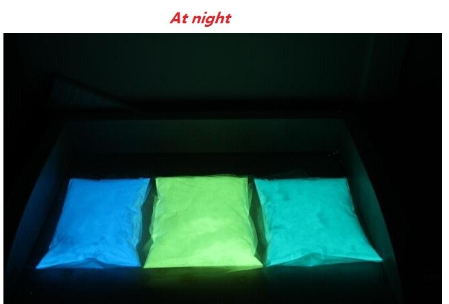 The brightest three combinations night glow powder,luminous powder,Noctilucent pigment/powder ,high recommend 300 gram/lot