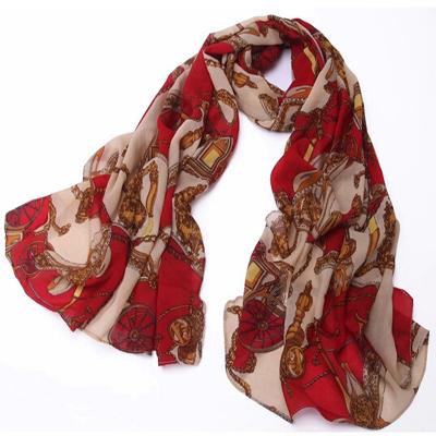 women scarf cachecol bandana from india female scarfs dots print scarves headband plaid striped chiffon head christmas Gifts(China (Mainland))