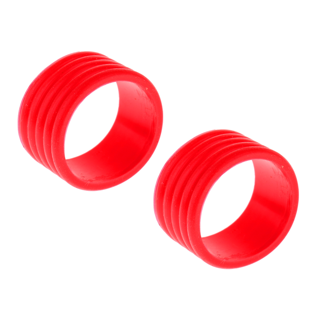 2 шт. силиконовая ракетка для бадминтона тенниса ручка фиксирующее защитное 2Pcs Silicone Badminton Squash Tennis Racket Handle Grip Fix Ring Protector Band Overgrip