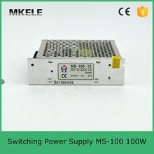 Mini размер модель 100 w производство прямые из светодиодов электропитание питания 12 v 100 w 8.3A MS-100-12 с CE сертификации один тип выхода