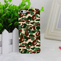 A1675 Bape Bathing Ape Camo A Bathing Ape Transparent Hard Thin Case Cover For Apple iPhone