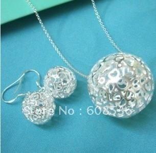 fashion jewelry, Silver plated   Necklace & bracelet,  jewelry, SALE S143