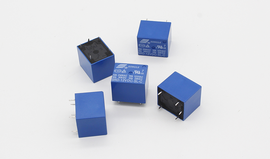 Free Shipping 5pcs/lot SRD-12VDC-SL-C T73-12V 5 pin PCB Type 12V DC Power Relay