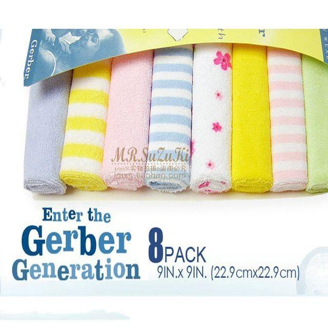 8 шт. детские младенческой новорожденных детей полотенце купания кормление протрите ...
