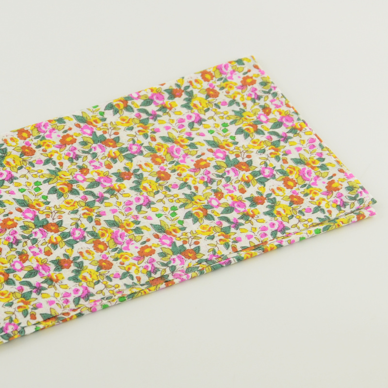 1 piece floral and leaves designs 50cmx50cm pre-cut fat quarter clothing sewing quliting patchwork printed cotton fabrics(China (Mainland))