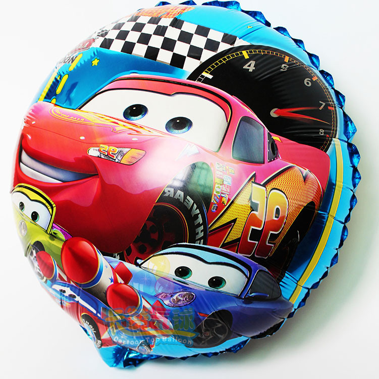 18inch 50pcs/lot Cars balloon cartoon foil balloons inflatable classic toys for kids birthday party ballloon(China (Mainland))