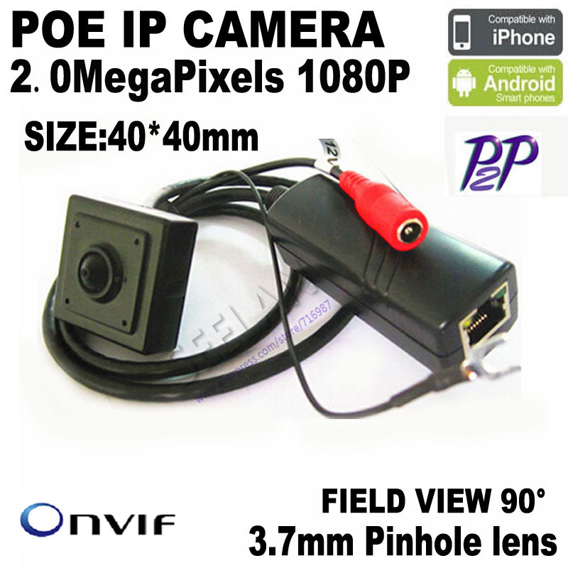 "Фотография 1080P Mini ip camera 2.0 Megapixel 1920x1080P POE Ip Camera Mini Poe Camera Pinhole Poe IP Camera 1/2.7"" SONY IMX122 Sensor cmos"