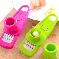 1pcs High quality multi-functional grinding the garlic Presses , kitchen gadgets jiang qi slice cooking tools