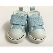 Assorted Color Causal Sneakers Shoes Accessories for Dolls,5 CM BJD Doll Shoes Canvas Shoes for Dolls Toys 400 Pair/Lot (China (Mainland))