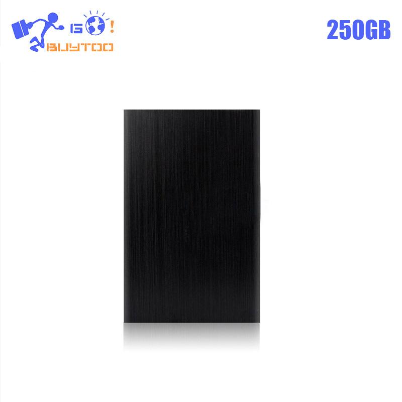 zk90 Original External Hard Drive 250GB HDD USB 2.0 Externo Disco HD Disk Storage Devices Laptop Desktop Hard Disk(China (Mainland))