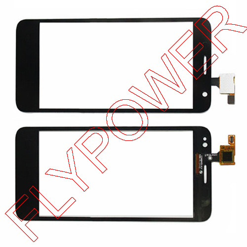 10pcs/lot for Alcatel One Touch Idol Mini 6012 6012A 6012D 6012W 6012X Black Touch Screen Digitizer by free DHL