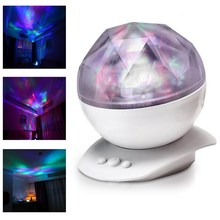 2016 Color Changing Led Light Lamp Aurora Star Borealis Projector Kid Speaker NVIE(China (Mainland))