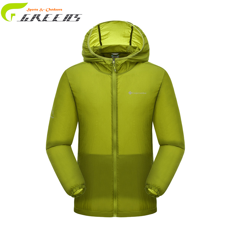 High quality summer men and women winderbreaker thin breathable Sun protective skin dust coat hiking jacket/ chaqueta outdoor(China (Mainland))