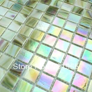stained glass mosaic tile backsplash igmt041 iridescent glass mosaic