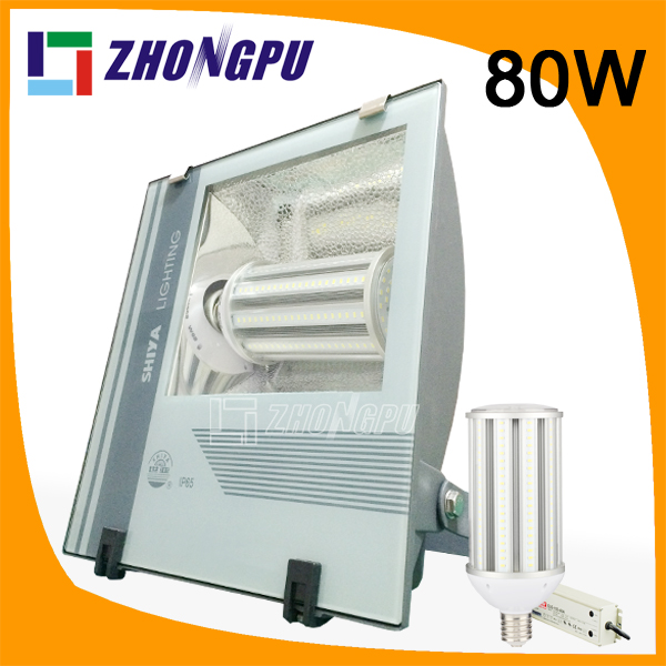 led flood light 80w e40 e39 ac85 265v led parking lot light ip65 projecteur exterieur 100w led. Black Bedroom Furniture Sets. Home Design Ideas