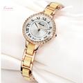 Luxury Kimio Brand Quartz watch Stainless Steel Ladies Analog Bracelet Watch Women Gold Quartz Watches montre