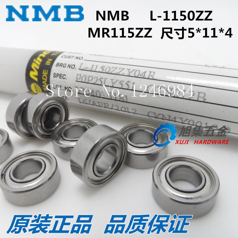 [SA]Japan's imports NMB MF74ZZ (LF-740ZZ) dimension 4*7*2.5 bearing flange Cup disabilities---50pcs/lot(China (Mainland))