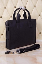 H brand real 100% Genuine Leather men Briefcases famous designers brand men handbag leather  messenger bags maletines men h bag(China (Mainland))