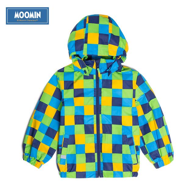 2015NEW Муми куртки для мальчиков зимний Отдых Оксфорд хлопок Геометрическая красный reima куртка для мальчиков детской одежды meninas 90-130