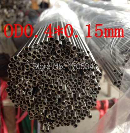 OD0.4*0.15mm authentic quality 304 321 316 bright welded seamless inner bore precision caliber small capillary tube tubing pipe(China (Mainland))