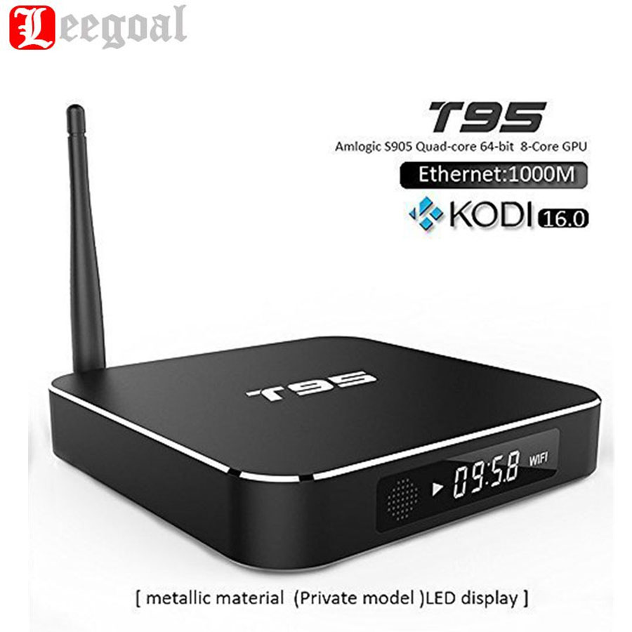 T95 Smart TV Box Metal Case 1GB+8GB Amlogic S905 Quad Core Andorid5.1 TV Receivers BOX Dual WiFi KODI Media Player Set Top Box(China (Mainland))