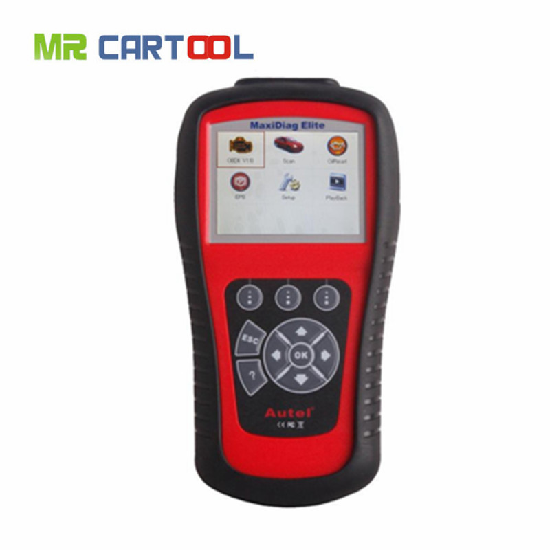 2016 100% Original AUTEL MaxiDiag Elite MD802 4 system + DS model MD 802 PRO (MD701+MD702+MD703+MD704) auto code reader by DHL(Hong Kong)