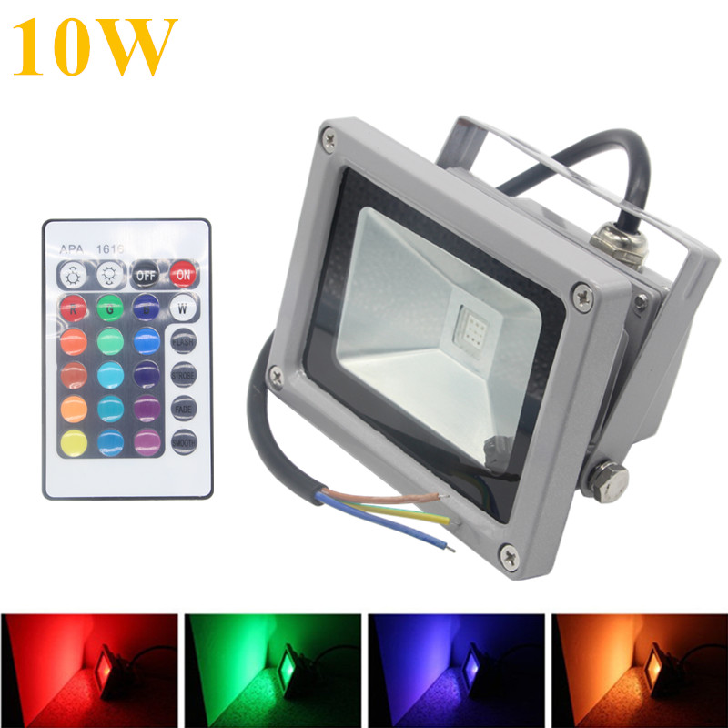 Buy rgb led flood light 10w 20w 30w 50w for Focos led exterior 50w