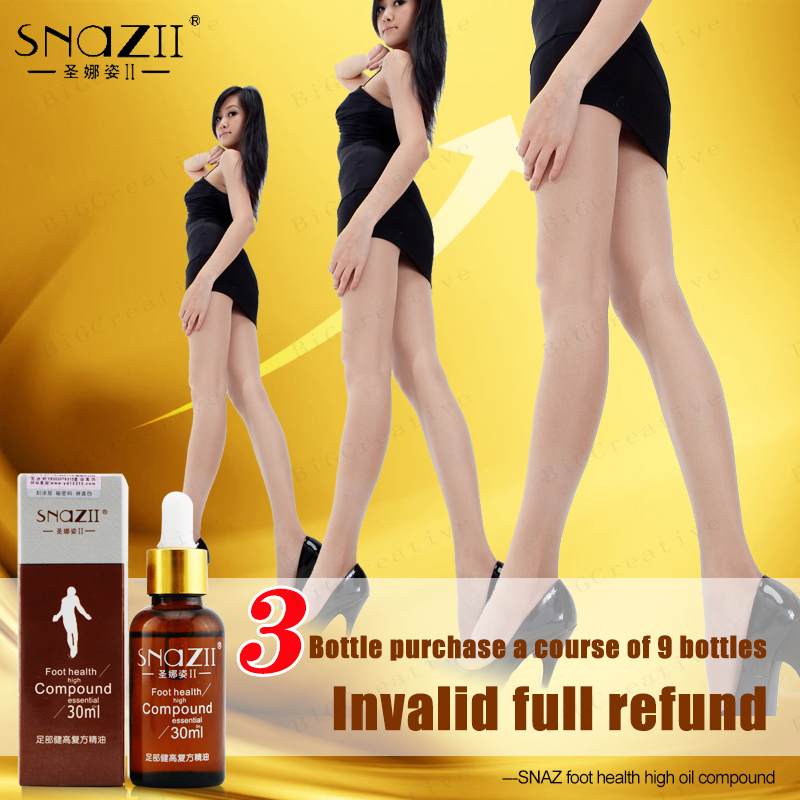 Snazii Chinese Medicine Essence Fast Heighten Products Body Grow Taller Essential Oil Increased Height Foot Massage Bone Growth(China (Mainland))
