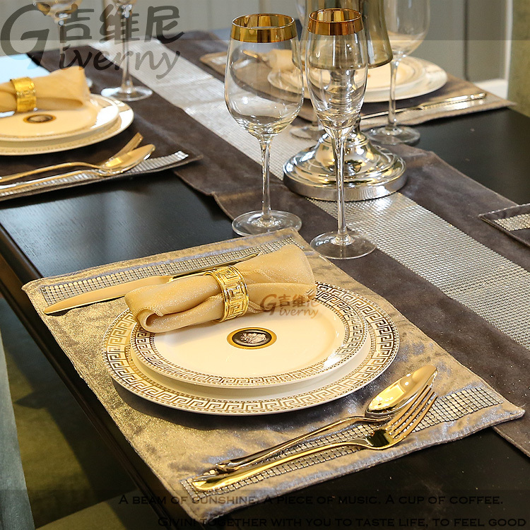 Inter continental europe neoclassical model home dining