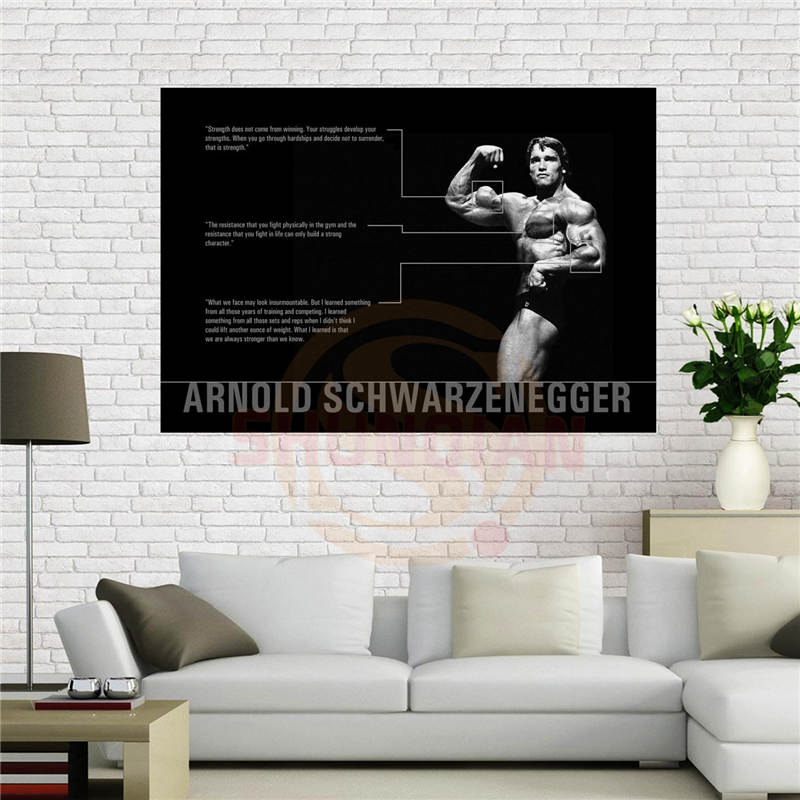 Popular arnold schwarzenegger poster buy cheap arnold for Arnal decoration