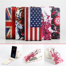 5 Painted Patterns Elephone P6000 Case Leather Cases Stand Cover For Elephone P6000 Pro Flip Case Wallet Card Slot Phone Bag