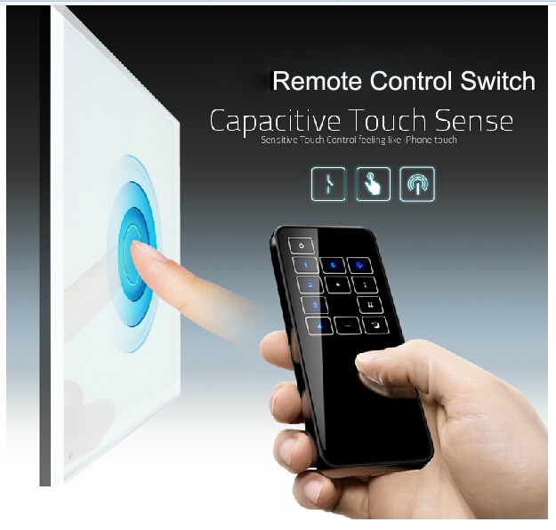 Free Shipping,Remote Switch, VL-C301DR-61,White Crystal Glass Panel, Wall Light Wireless Remote Dimmer Switch<br><br>Aliexpress